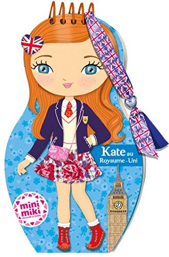 Minimiki - carnet créatif - Kate au Royaume-Uni par Collectif