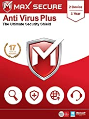 Max Secure Software Anti Virus Plus Version 6 - 2 PCs, 1 Years (Email Delivery in 2 Hours - No CD)