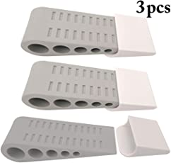 Outgeek 3PCS Kids Door Stopper Heavy Duty Door Wedges for Children Room