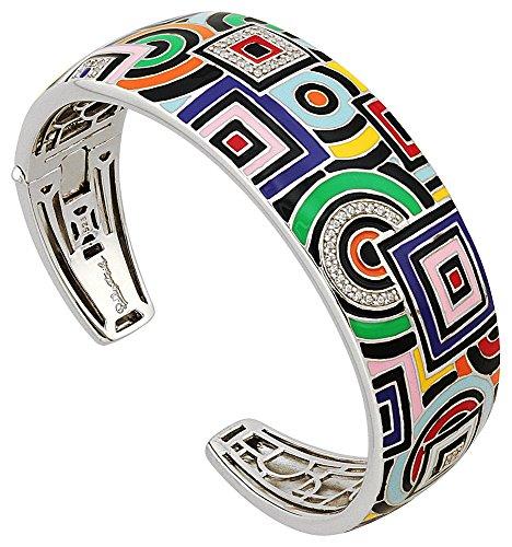 Una Storia - JO121147 : Bracelet Femme Argent et Email