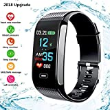 Fitness Tracker, Smart, 2018 laptop Activity Tracker contapassi con display a colori pressione...