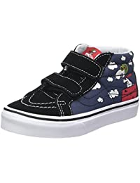 vans shoes for boys. vans unisex kids\u0027 peanuts sk8-mid reissue v trainers shoes for boys