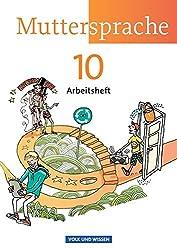 Muttersprache - Östliche Bundesländer und Berlin - Neue Ausgabe: 10. Schuljahr - Arbeitsheft
