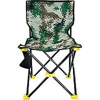 GHY Silla de Camping Plegable, Ligera, portátil, para Festivales, Pesca, al Aire Libre, Asiento de Viaje, Carga de 150 kg