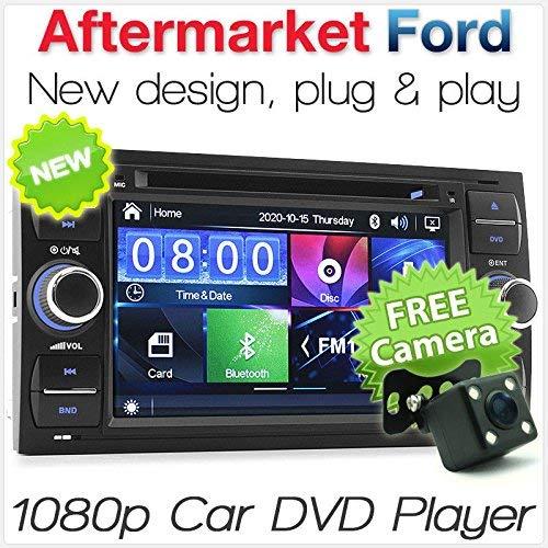 Tunez - Reproductor de DVD estéreo para Ford Focus Transit Connect Mondeo...