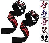 RDX Zughilfen Bodybuilding Handgelenkbandage Krafttraining Fitness Gewichtheben Klimmzughaken Straps