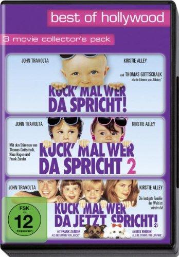 Kuck' mal wer da spricht 1+2/Kuck' mal wer da jetzt spricht - Best of Hollywood (3 DVDs)