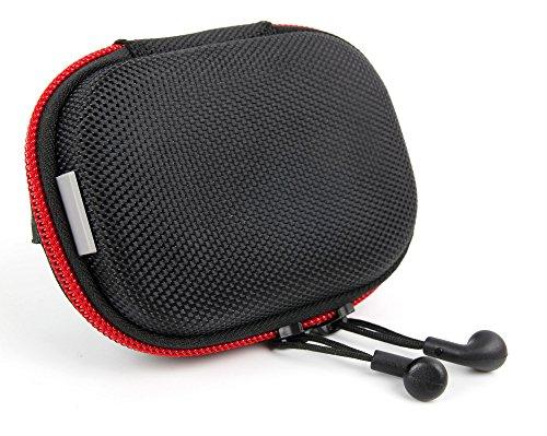 DURAGADGET Stabiler Schutz für Ihre Final Audio Design Adagio III Kopfhörer: Eva Hard Case Tasche Etui Hülle der Marke, Netzfach und Innenleben