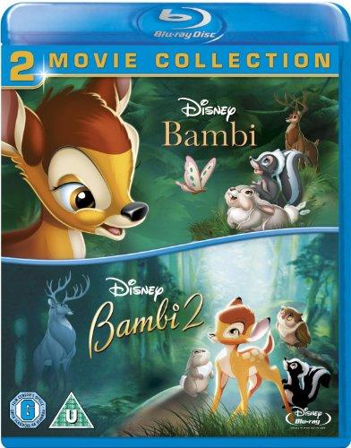 Bambi / Bambi 2 (Double Pack) [Blu-ray] (Region Free)