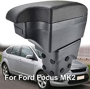 Zweilagige Schwarze Leder Armlehne Mittelkonsole Ablagefach Auto