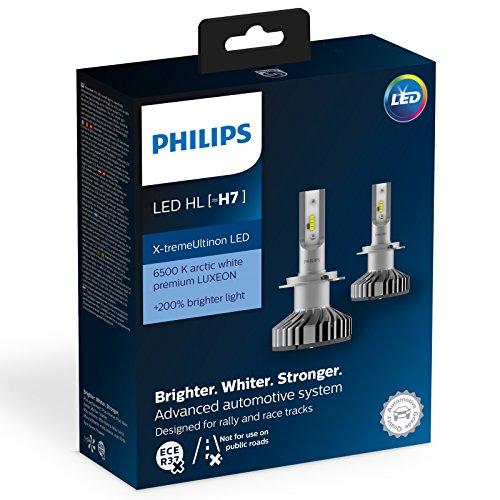 Preisvergleich Produktbild Philips 12985BWX2 LED Auto-Glühlampen H7,  2 Glühbirnen