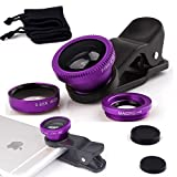 Best Luxsure Iphone 6 Lenses - Luxsure® Universal 3 in 1 Camera Lens Kit Review