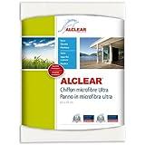 ALCLEAR 950002 Chiffon Microfibre Ultra pour Fenêtres, le Chiffon Magique, blanc, 60x45 cm