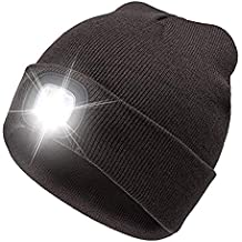 merymall La Linterna de 4 LED Guarda el Gorro de Punto Ligero de Punto  Caliente 57e7699610c