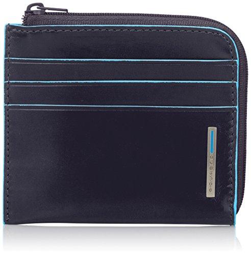 Piquadro PU3410B2/BLU2 Blue Square Bustina, Blu, 10 cm