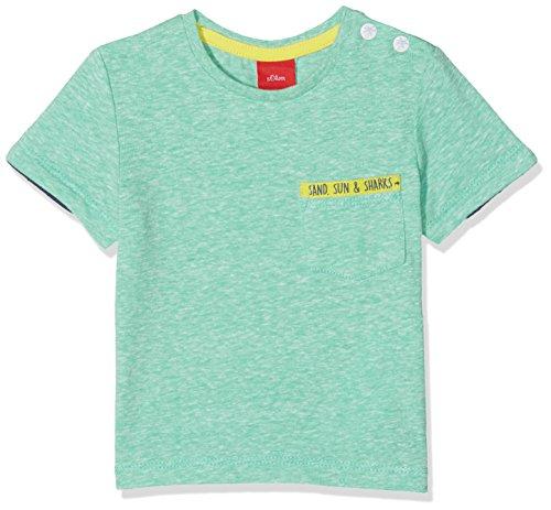 s.Oliver Baby-Jungen T-Shirt 65.805.32.5179, Grün (Light Green 66w3), 92