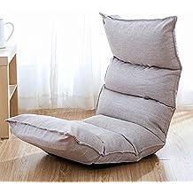 Feifei Chaise de Plancher Chaise de Jeu Pliable Chaise de Plancher réglable Fauteuil  Paresseux canapé Balcon dab2a2e5eb69