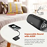 Bluetooth 4.1 Transmitter and Receiver, Wireless Audio Adapter up to 65 ft / 20 m, Hands-Free Calls with Mic, aptX Low Latency, Connects to 2 Devices, 3.5mm & RCA Connections