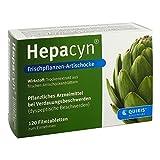 Hepacyn Frischpflanzen Artischocke Filmtabletten 120 stk
