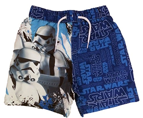 Disney Boys Star Wars Swimming Shorts Ages 3 To 10 Years