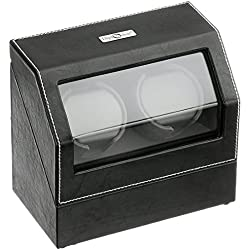 Diplomat 34-502 Battery Powered Leather Synthetic Watch Winder