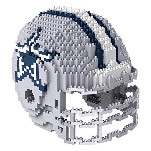 Dallas Cowboys NFL Football Team 3D BRXLZ Helm Helmet Puzzle