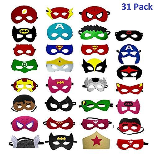 OCMCMO Máscaras de Superhéroe Máscara