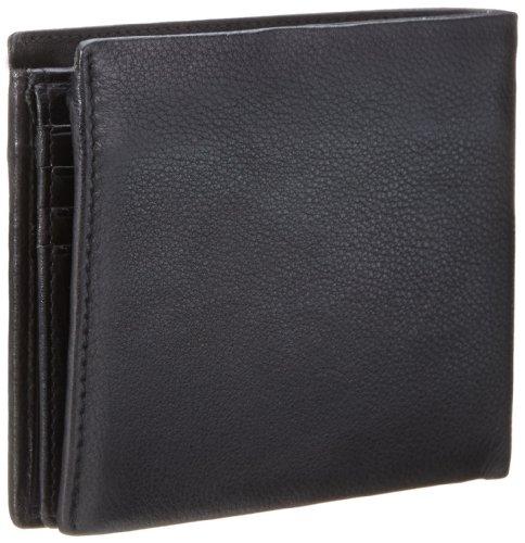 Strellson Carter BillFold H8 4010001192 Herren Geldbörsen 12x10x1 cm (B x H x T), Schwarz (black 900) Schwarz (black 900)
