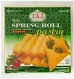 Taj Plain Spring Roll Pastry, 600 g (Frozen)