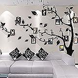 Missley Romantischer Baum Bilderrahmen Memory Baum Wohnzimmer Schlafzimmer Wandtattoo Aufkleber Memory Baum