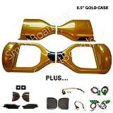 Hoverboard Gold Beste Deals - 16,5cm Hoverboard Kunststoff Shell-Kit-swegway Case 16,5cm Rahmen segwa 2Rad Smart Balance Scooter Kunststoffe
