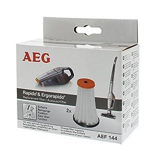 AEG AEF144 Austauschfilter, 2 Stück, für AEG Rapido AG51/AG61/HX6, Ergorapido AG18/AG30/AG31/AG32/AG35