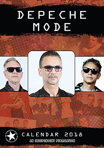 Depeche Mode Kalender 2018 Tributkalender - Wandkalender 2018, 12 Monate, original englische Ausführung.