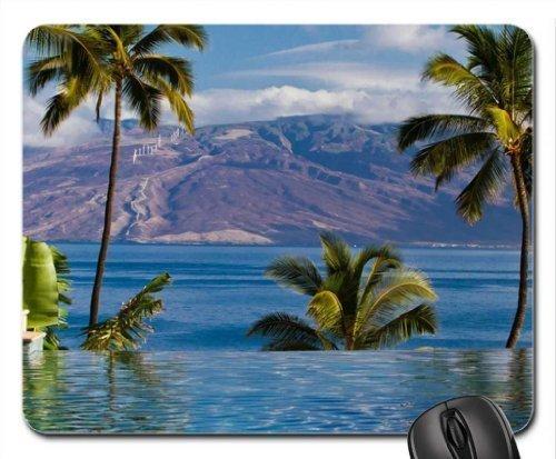 ASKSSD Four Seasons Hotel Wailea Maui Hawaii Mouse Pad, Mousepad (Oceans Mouse Pad)