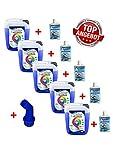 5x 5 Ltr. Flüssigwaschmittel Premium + 5 MA + Ausl. Waschmittel Waschgel Caps Gel