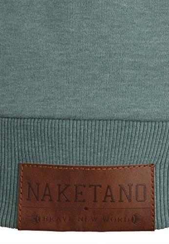 Naketano Brazzo IX W sweat zippé à capuche Green Melange
