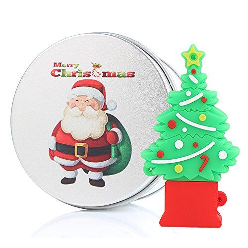 Regalo di Natale Chiavetta USB 16GB Memoria USB Flash Drive 2.0 Memory Stick, Idee Regalo Originali, Figurine 3D, Archiviazione Dati USB Gadget