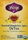 Best Yogi detoxes - Yogi Organic Roasted Dandelion Spice Detox Tea, 16 Review