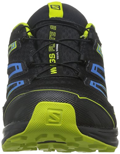Salomon Wings Flyte 2 GTX Trail Laufschuh Herren Schwarz (Black/bright Blue/gecko Green)