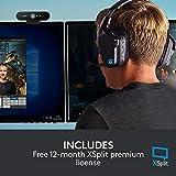Logitech Brio Gaming 4K Webcam (Streaming Edition HD Webcam 1080p, 12-monatige Premium-Lizenz XSplit enthalten) schwarz - 9