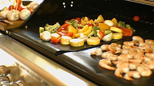51t5UoifTyL - Grillmatten (3er Set) zum Grillen und Backen | Coninx Grillfolie | Teflon Antihaftbeschichtung | 33x 40cm | wiederverwendbar Grill Zubehör | Backfolie Bachmatte | ideal für Holzkohle Grill
