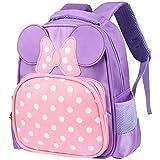 Zmsdt Koreanische Version der Kindergartentasche 1-3-6 Jahre alt Baby Kleine Tasche Nette Rucksack Cartoon Tasche Jungen und Mädchen Umhängetasche (Farbe : Pink)