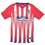Nike ATM y Nk BRT Stad JSY SS Hm Camiseta, Unisex Niños, Rojo/Blanco / Azul (Sport/Deep Royal), S