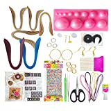 #7: VIPRA 37 Piece Quilling Jewellery Kit with 2200 papers