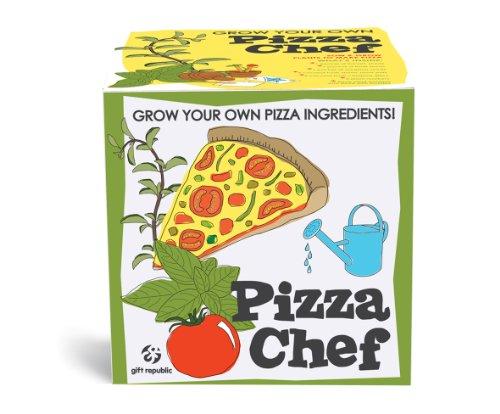 MAGS Vertriebs 11715 Sow und Grow Pizza Chef Geschenkbox Chef Pizza