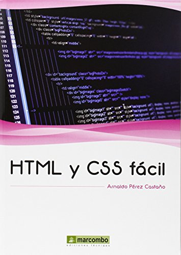 HTML y CSS fácil por ARNALDO PEREZ CASTAÑO