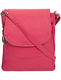Women And Girls Sling Bags (Pink)