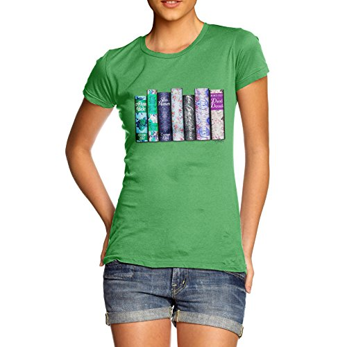 TWISTED ENVY Women's The George Eliot Collection 100% Cotton T-Shirt