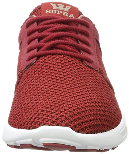 Supra Herren Hammer Run Sneaker Rot (Brick Red-White)