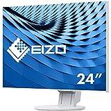 Eizo EV2451-WT 60,5 cm (23,8 Zoll Full HD) Ultra-Slim Monitor (DVI-D, HDMI, D-Sub, USB 3.0, DisplayPort, 5ms Reaktionszeit, Auflösung 1920 x 1080) weiß